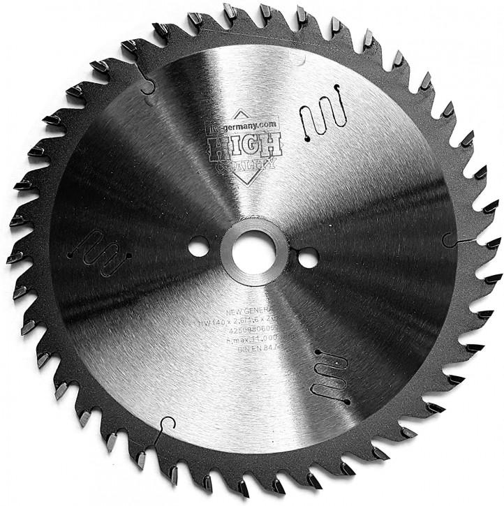 HM - Sägeblatt 140 x 2,6 x 12,7 Z= 42 W für Black & Decker o. Peugeot, Industriequalität nach DIN EN 847-1