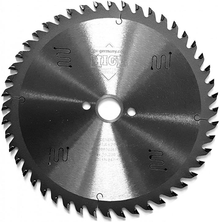 HM - Sägeblatt 150 x 2,6 x 16 Z= 48 WZ, Industriequalität nach DIN EN 847-1