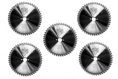 Sparset HM - Kreissägeblätter 5 Stück 160 x 2,2 x 20 Z= 48 WZ