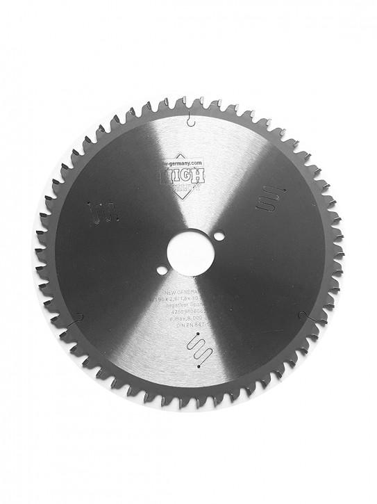 HM - Kreissägeblatt 190 x 2,6 x 30 mm Z= 54 TF Multi Material, Industriequalität nach DIN EN 847-1