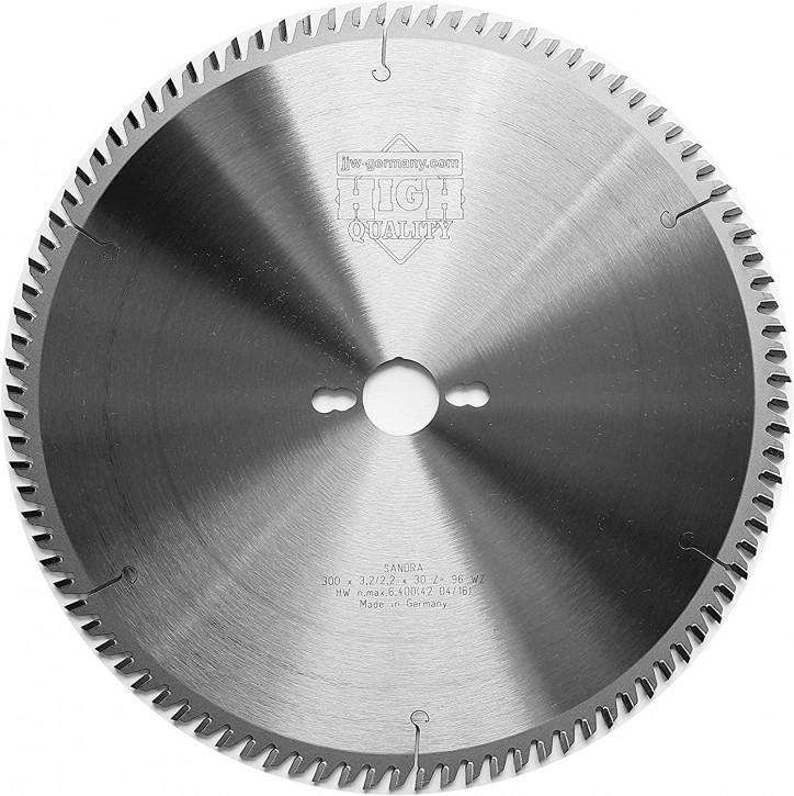 HM - Kreissägeblatt Sandra 300 x 30 Z= 96 WZ für Tisch oder Formatkreissäge