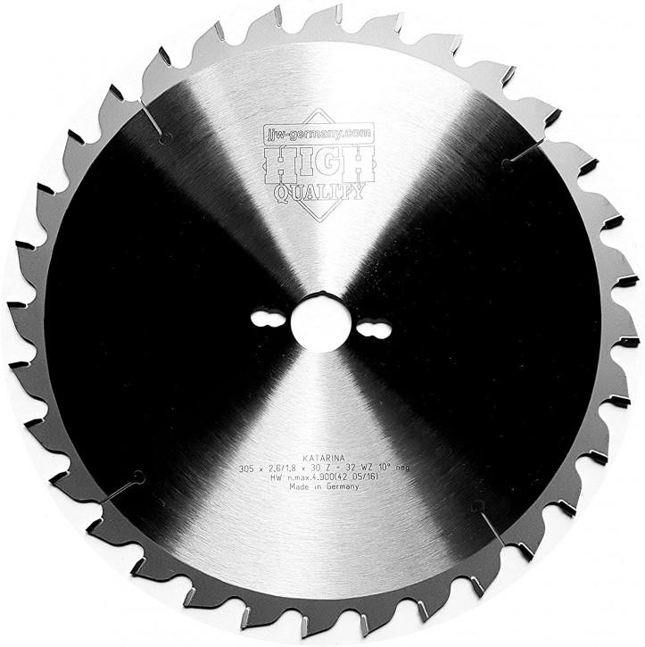 HM – Kreissägeblatt Katarina 305 x 30 Z= 32 WZ negativ für Kapp und Gehrungssägen