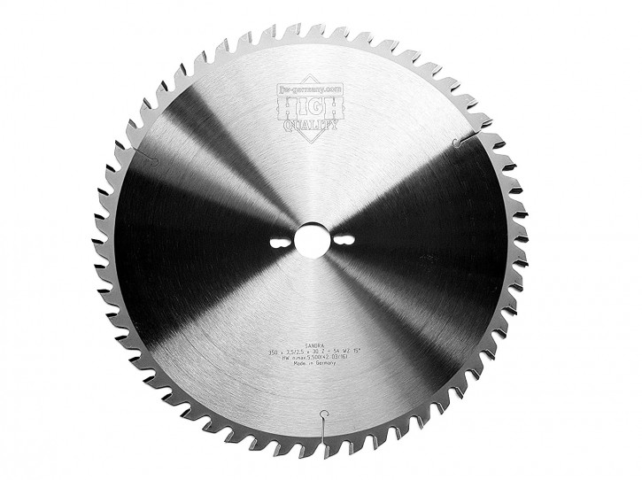 HM - Kreissägeblatt Sandra 350 x 30 Z= 54 WZ für Tisch oder Formatkreissäge