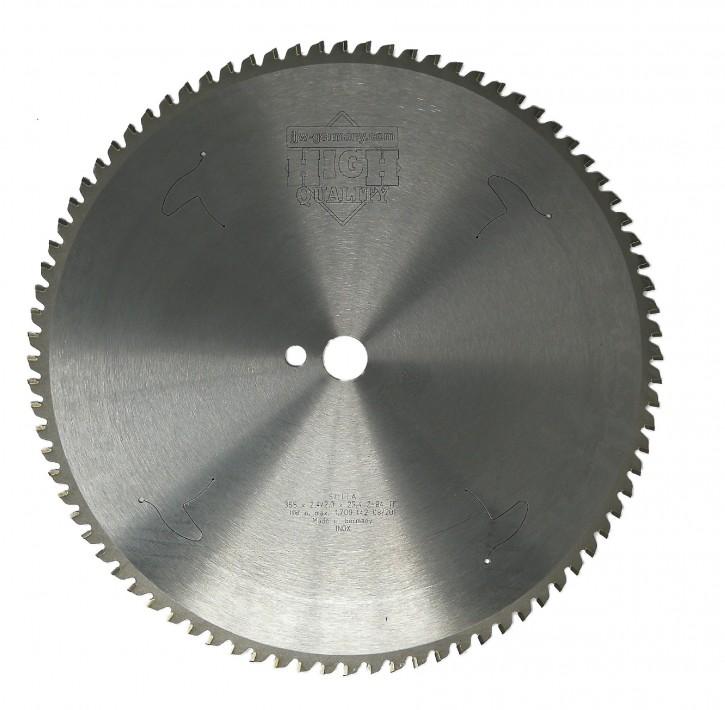 HM – Kreissägeblatt Takeshi 355 x 25,4 Z= 84 TF INOX für VA und Edelstahl
