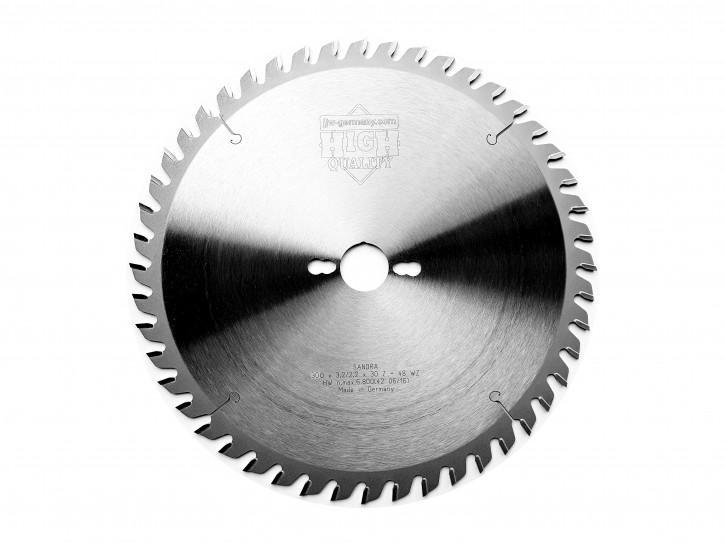HM - Kreissägeblatt Sandra 300 x 30 Z= 48 WZ für Tisch oder Formatkreissäge